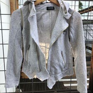 Soft, versatile zip up jacket